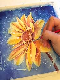Spice Up Your Painting With Watercolor Resist Techniques
