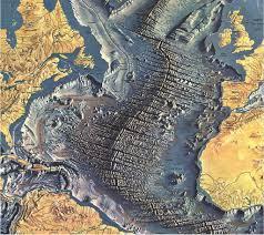 """El Orden Mundial - EOM a Twitteren: """"Así se vería el Atlántico sin agua. En  medio una gigantesca cordillera submarina producida por el movimiento  tectónico.… https://t.co/XCMkhDyWy1"""""""