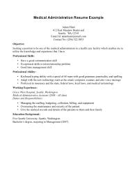 healthcare administration resume anuvrat info administration resume in healthcare s administration lewesmr