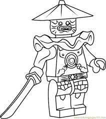 Small Picture Ninjago Stone Swordsman Coloring Page Free Lego Ninjago Coloring