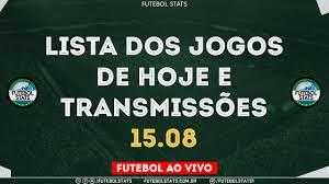 Lista Jogos de Hoje - Como Assistir Futebol Ao Vivo na TV Guia dos jogos na  Internet Online - 15/08 - YouTube