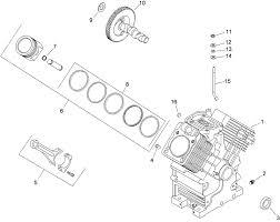 Crankcase assembly kohler ch23s 76585
