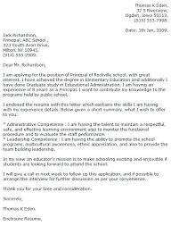 Education Cover Letter Template Cover Letter Example 2 Special