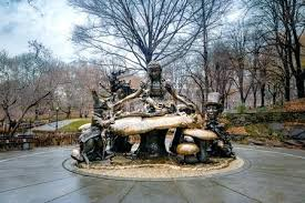 alice in wonderland statue stock photo the in wonderland sculpture at central park new alice in alice in wonderland statue