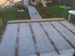 Beton Sur Bois Avec Terrasse En Composite Dalle Suerre Balcon
