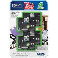 cidy compatible laminated tze 231 tz231 tze231 12mm black on white tape tze 231 tz 231 for brother p touch printer tze 131