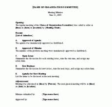 How To Write Meeting Minutes Meeting Minutes Template Word Templates For Free Download