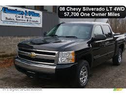 2008 Chevrolet Silverado 1500 LT Crew Cab 4x4 in Black - 111488 ...