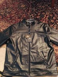 emporio co leather lamborghini jacket