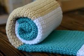 sewing barefoot modern baby blanket
