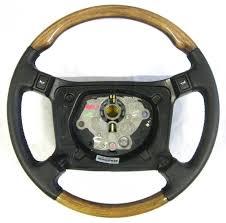 wood leather steering wheel late xjs