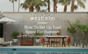 outdoor furniture west elm. How To Set Up Your Outdoor Space For Summer | Will Taylor + West Elm - YouTube Furniture