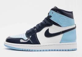 Air Jordan 1 Unc Blue Patent Leather Release Dates