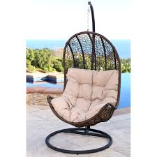 ideas patio furniture swing chair patio. Abbyson Newport Outdoor Brown Wicker Swing Chair (Brown), Patio Furniture (Iron) Ideas