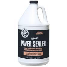 glaze n seal 1 gal clear paver sealer and sand ilizer
