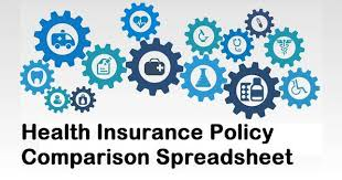 No b) date of commencement of first insurance without break: Download A Health Insurance Policy Comparison Spreadsheet