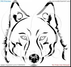 Small Picture brilliant dog face clip art black and white with husky coloring