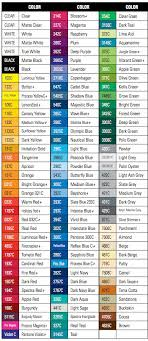 Avery 900 Supercast Colour Chart Avery 900 Supercast Colors