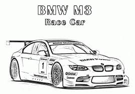 Small Picture BMW M3 Race Car Coloring Pages Free Online Cars Coloring Pages