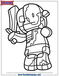 minecraft coloring pages zombie pigman hicoloringpages