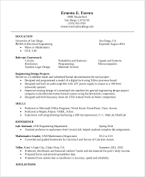 One Page Resume Cool Engineering One Page Resume Photo Gallery For Website Resume In One