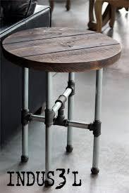 industrial pipe furniture. Gas Pipe Furniture Beautiful Industrial Steel Stool