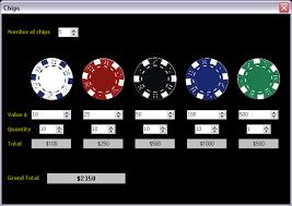 Poker Chip Calculator Distribution Play Slots Online