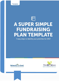 Fundraising Plan Template The Super Simple Fundraising Plan For Nonprofits
