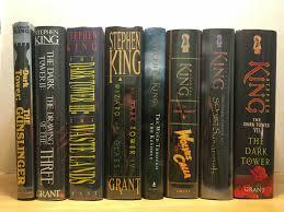 plete set of dark tower series by stephen king sold