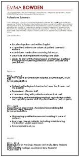 Value Statement Example For Resumes British Cv Example Myperfectcv