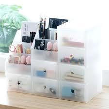 storage organizers fashion plastic cosmetic makeup box desktop bo drawer stationery organizer from best bins for