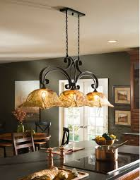vetraio oil rubbed bronze kitchen island light toffee art glass by with yellow dining table art