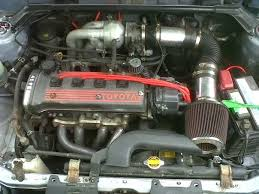 My Starlet EP91 (1997): Corolla manifold on a Starlet EP91, more hp