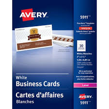 Avery 8870 Template Avery Laser Print Business Card
