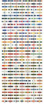 Army Jrotc Ribbon Chart Jrotc Ribbons Ribbon Display Ribbon Chart