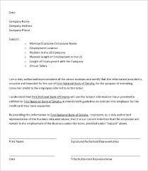 Employee Verification Letter - 14+ Free Word, Pdf Documents Download ...