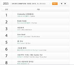 Ikon Chart Ikon Is N 3 On Show Champion Top 10 Chart Ikon Philippines