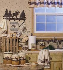 Mountain Decor Accessories Cabin Bedding Cabin Kitchen Accessories Lodge Kitchen Decor 29