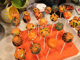 Decorating With Sprinkles Pumpkin Cake Pops Made To Live