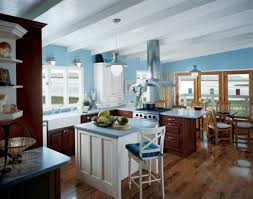 kitchen paint color ideaskitchen paint colors dark blue modern  Decor Crave