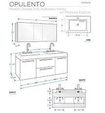 inspirational bathroom sink vanity measurements