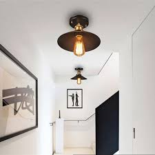industrial flush mount. Interesting Mount Aliexpresscom  Buy Vintage Ceiling Light Black Lamp Industrial  Flush Mount Fixtures For Kitchen Luminaria Home Lighting From Reliable Light  With