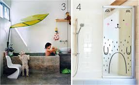 bathroom: Dazzling Interior Design Of Fun Bathroom Ideas With Rectangle  Bathtub In Rustic Style Beside
