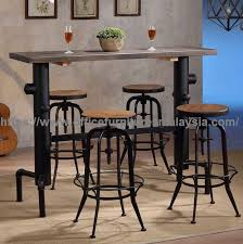 Industrial style furniture Coffee Table Industrial Style Bar Height Table Commercial Furniture Sale Malaysia Mont Kiara Bangsar Ampang2 Office Furnitures Malaysia Industrial Style Bar Height Table Used Pub Furniture Price Malaysia