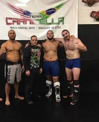chris birchler right with teammates at carnicella mma in clifton new jersey