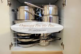 Small Kitchen Organizing Organizing Pots And Pans Graceful Order