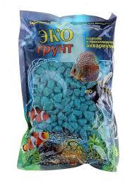 <b>Цветная мраморная крошка Эко</b> грунт 5 10mm 3 5kg Sea Wave г ...
