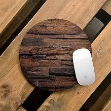 Unique office decor Workstation Image Unavailable Amazoncom Amazoncom Wooden Style Unique Mouse Pad Computer Mousepad Office