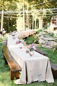 Same Sex Colorado Mountain Wedding  Lesbian Backyard Wedding In Summer Backyard Wedding