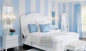 Blue Striped Walls